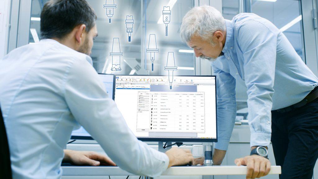 Werkzeugdatenbank für KMU