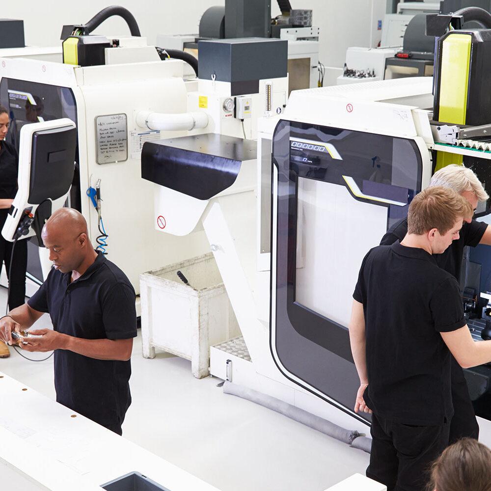 Industrie 4.0 mit der EVO-Software für KMU